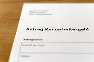 Antrag-Kurzarbeitergeld